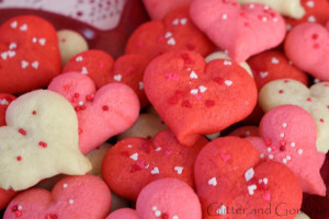 "Valentines Day ""Make Ahead"" Spritz Cookies"