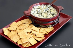 Awesome appetizer recipe ~ Artichoke Florentine dip