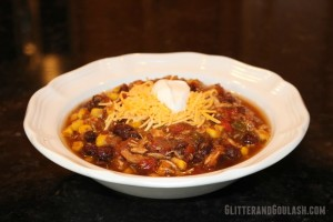 Slow Cooker/Crock Pot Chicken Tortilla Soup