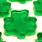 St. Patrick's Day Shamrock Jello Jigglers