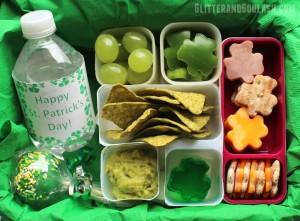 St. Patrick's Day School Lunch Ideas