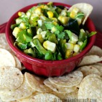 Best Ever Grilled Corn Salsa