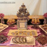 Purple & Silver Dessert/Snack Table Ideas