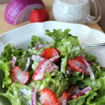 Strawberry Poppyseed Salad-Kid Approved!