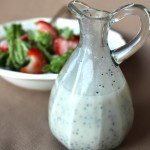Creamy Poppyseed Salad Dressing