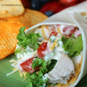 Chicken Ranch Wrap