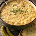 Creamy Cheeseburger Soup
