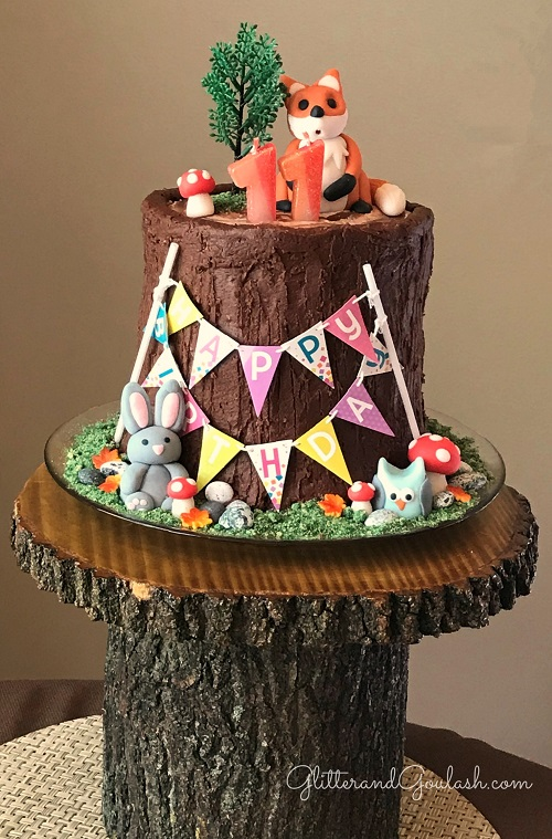 Woodland Friends Party