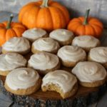 Pumpkin Spice Cookies with Brown Butter Frosting